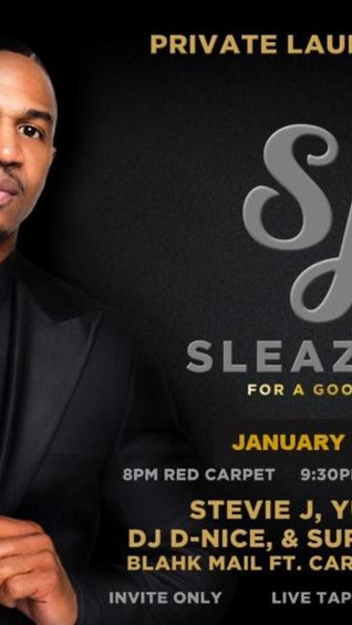"""""""Sleazy J's"""" Launch Party Moved to Thurs 1/18/18; RSVP Today"""