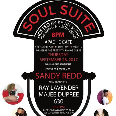 Soul Suite Sept 28th @ApacheCafe