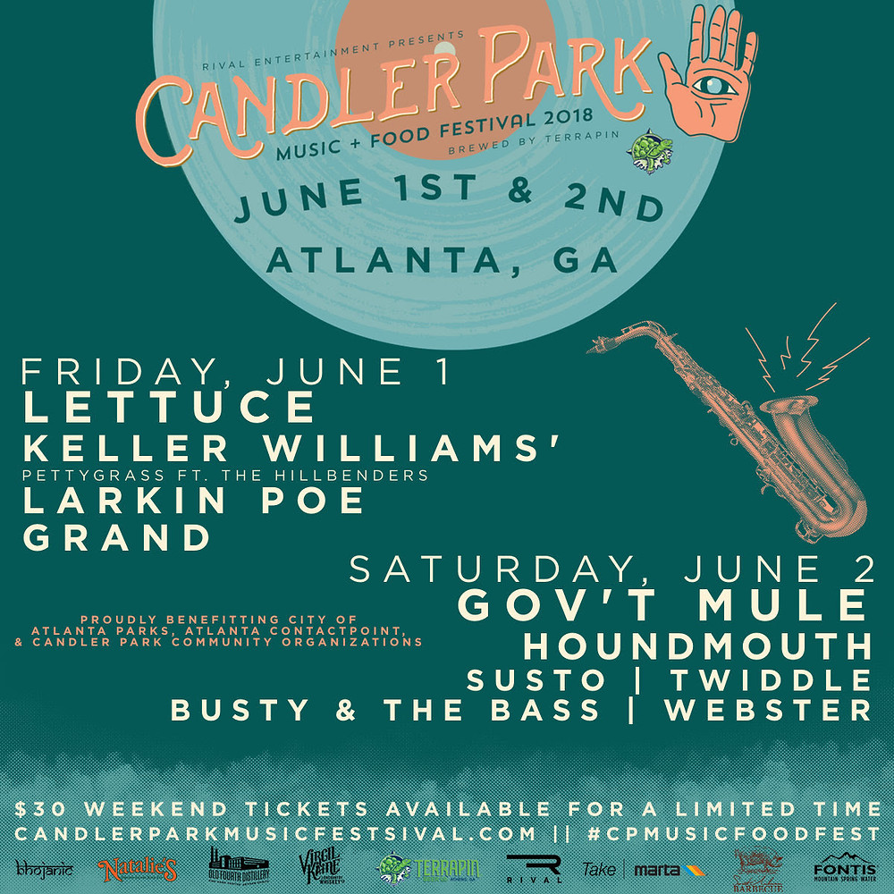 Candler Park Music & Food Festival: This Weekend!