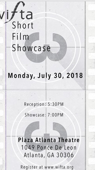 Tickets now available for the 2018 WIFTA Short Film Showcase!