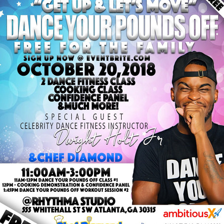 Dance, Eat and Build Confidence - Free Community Event