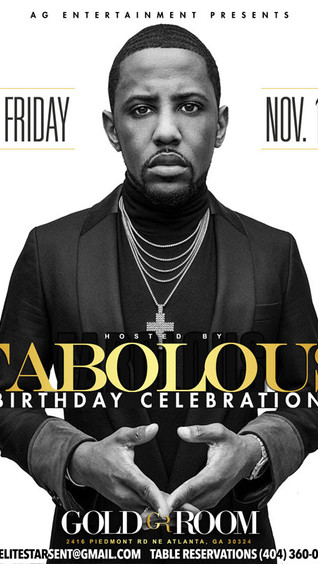 FABOLOUS Birthday Celebration TONIGHT at Gold Room | RSVP