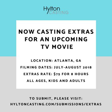 Casting Extras for TV Movie
