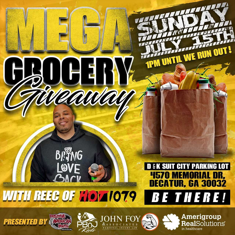 Free Grocery Give Away - 7/15/18