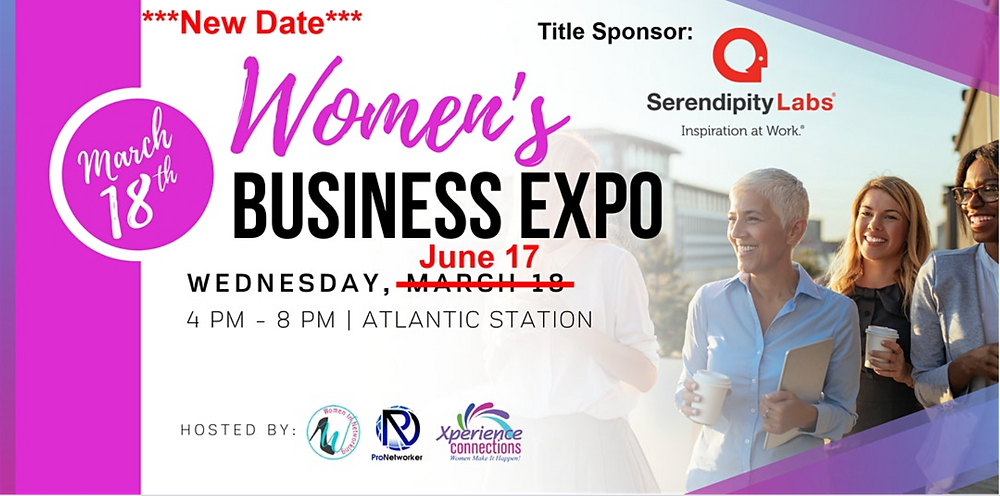 ***New Date*** Women's Business Expo: June 2020