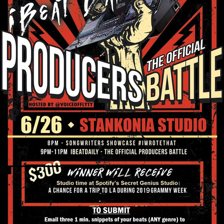 I Beat Daily is back June 26 at Stankonia!
