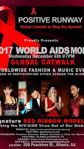 Positive Runway World Aids Day Event Global Catwalk