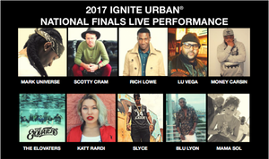 """IGNITE URBAN NATIONAL FINALS COMPETITION"""" TUESDAY, DEC. 19th"""