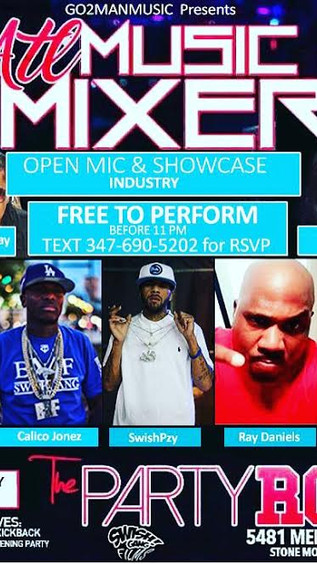 INDUSTRY MIXER MONDAY NIGHT @PARTY ROOM