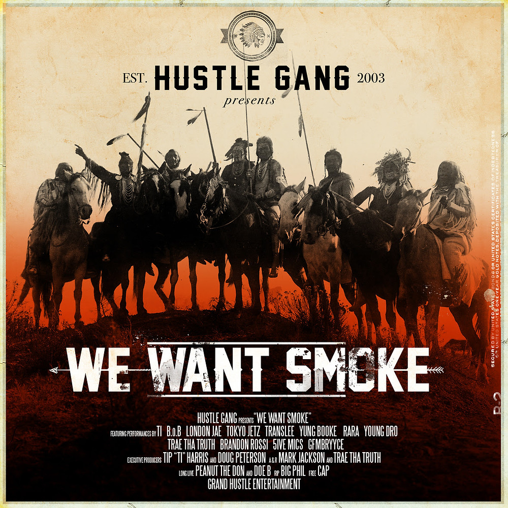 HUSTLE GANF WE WANT SMOKE ALBUM