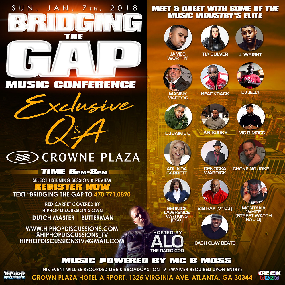 Bridging The Gap Music Conference