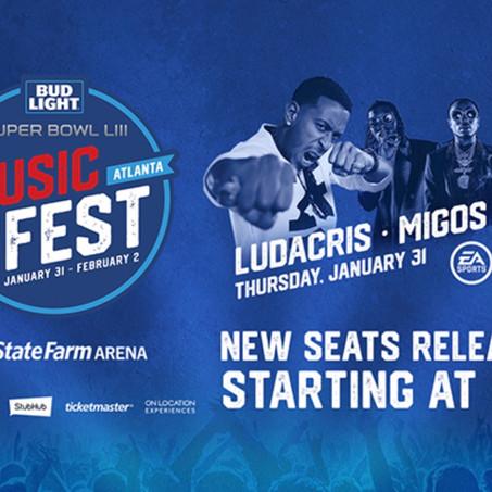 Super Bowl Music Fest- starting at $50