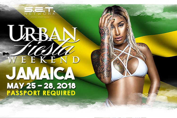 Jamaica, has officially been selected as the new  MEMORIAL DAY WEEKEND party destination for the:   URBAN FIESTA WEEKEND   10 Yr, REUNION - MAY 25-28, 2018