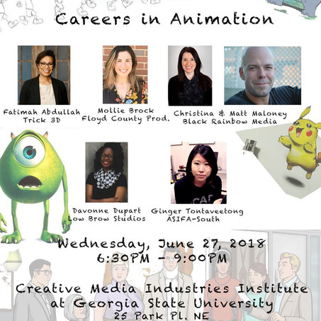 Careers in Animation