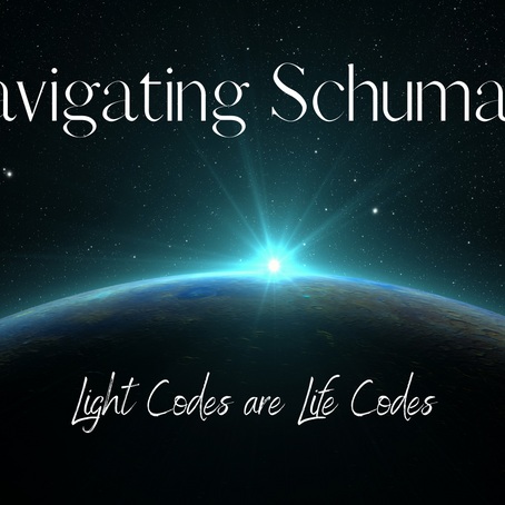 Navigating the Schumann Resonance with Light Codes