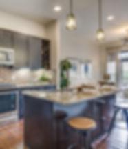 houston, tx apartment kitchen island