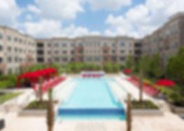 houston washington apartment pools