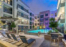 midtown houston apartment pool