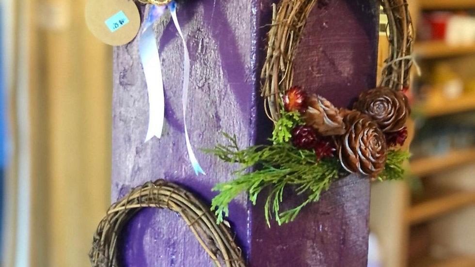 mini seasonal wreaths