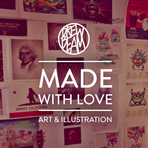Made With Love | Art & Illustrations