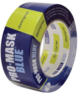 IPG PMD48 Masking Tape, 60 yd L, 1.88 in W, Crepe Paper Backing, Dark Blue