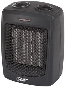 PowerZone PTC-700 Portable Electric Heater, 12.5 A, 120 V, 1500 W, 1500W Heating