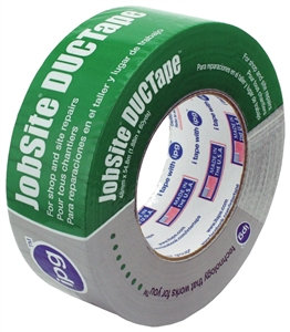 IPG 6700 Duct Tape, 60 yd L, 1.88 in W, Poly-Coated Cloth Backing, Silver