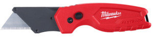 Milwaukee Fastback 48-22-1500 Compact Utility Knife, 1.27 in L Blade, 0.02 in W