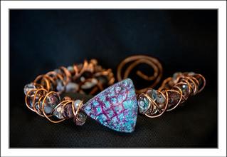 """Abstract Art"" Bracelet #3 (02-012)"