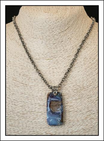 "Australian ""Boulder Opal""  Necklace  (03-008)"