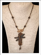 Dragon Fly Copper Necklace (03-001)