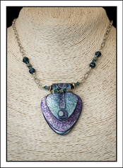 """""""Abstract Art"""" Necklace (02-019)"""