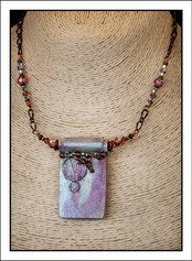 """""""Abstract Art"""" Necklace (02-015)"""