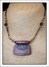 """""""Abstract Art"""" Necklace (02-017)"""