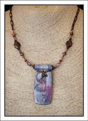 """""""Abstract Art"""" Necklace (02-014)"""