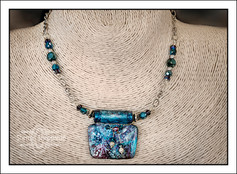 """""""Abstract Art"""" Necklace (02-001)"""