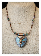 """""""Abstract Art"""" Necklace (02-021)"""