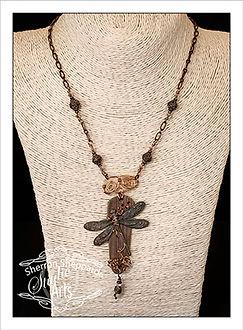 copper metal jewelry, wire wrap, beaded jewelry
