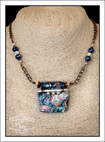 """Abstract Art"" Necklace (02-004)"