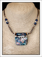 """""""Abstract Art"""" Necklace (02-004)"""
