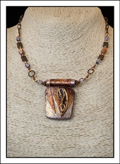 """""""Abstract Art"""" Necklace (02-020)"""