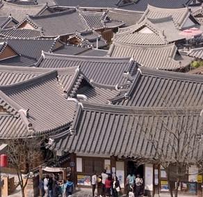 ท่องเที่ยวหมู่บ้านโบราณแบบเกาหลี ที่หมู่บ้านชอนจู ฮันอก (Jeonju Hanok Village )