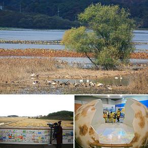 แหล่งเรียนรู้ พร้อมชมนกอพยพย้ายถิ่นตามธรรมชาติ ที่อ่างเก็บน้ำจูนัม เมืองชางวอน