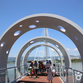 สะพานกระจกแก้วซุยังคัง (Soyanggang Skywalk (소양강 스카이워크))