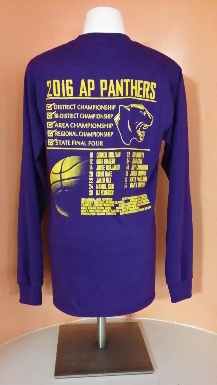AP Panthers State Final Tee