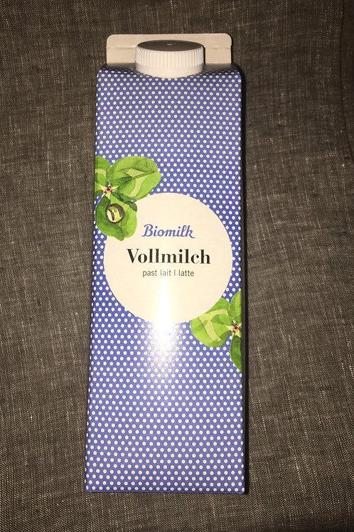 Vollmilch, bio, past, 1 L