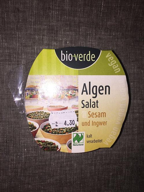 Salat mit Algen, Sesam, Ingwer, 100 gr
