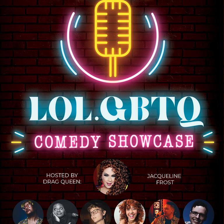 LOL.GBTQ Comedy Night