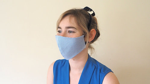XS houndstooth face mask