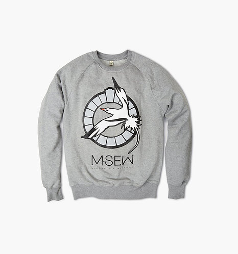 M-SEW badge sweatshirt